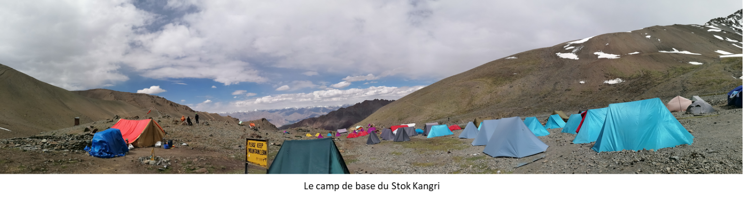 Camp de base de Stok Kangri