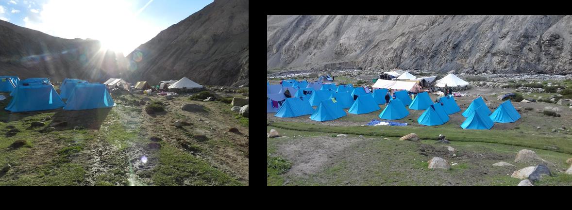 campement du Tchachungtse